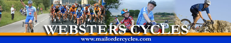 Websters Cycles for Mail Order Cycles - Click for Homepage