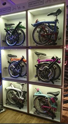 MIDLANDS LARGEST BROMPTON STOCKISTS