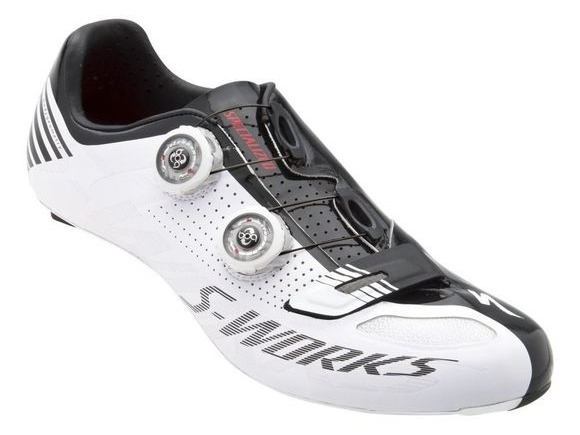 SPECIALIZED S-WORKS WHITE/BLACK click to zoom image