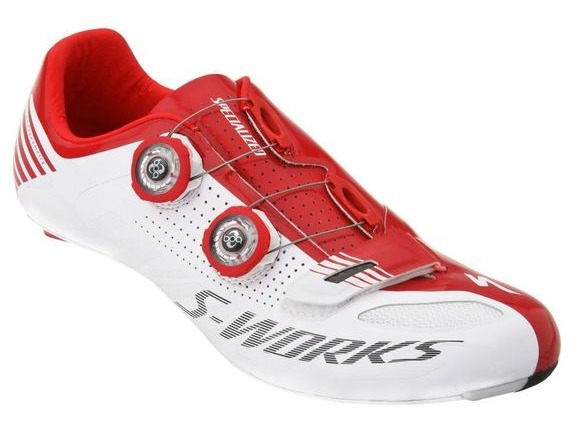 SPECIALIZED S-WORKS WHITE/RED click to zoom image