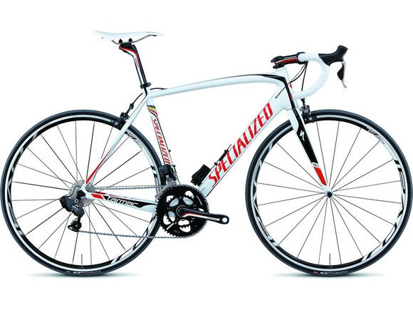 SPECIALIZED TARMAC PRO SL4 ULTEGRA Di2 BIKE 2012 White/Black click to zoom image
