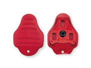 EXUSTAR E-CK3R LOOK KEO CLEAT COVERS - RED
