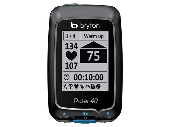 BRYTON RIDER 40E WITH FREE HRM click to zoom image
