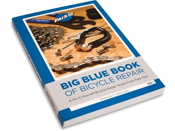 PARK BIG BLUE BOOK OF BICYCLE REPAIR click to zoom image