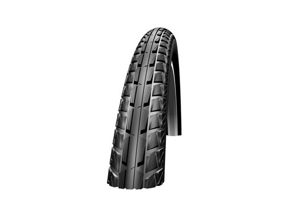 "SCHWALBE Schwalbe Marathon Dureme 26""x2.00 Double Defence Folding tyre Reflective s/wall 645g (50-622) click to zoom image"