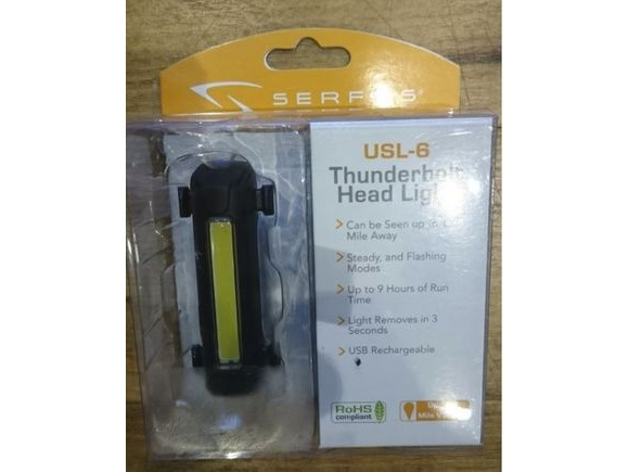 SERFAS Thunderbolt (USB) (USL-6) Headlight click to zoom image