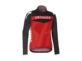 Specialized Pro Racing Jersey LS Black/Red
