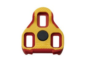 Exustar E-ARC11 FLOATING LOOK KEO CLEATS - YELLOW/RED