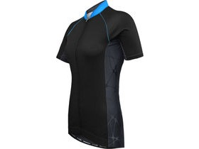 Funkier WJ-761 Sport Ladies Short Sleeve Jersey in Black
