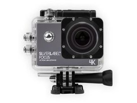SilverLabel Focus Action Cam 4K with Free Case