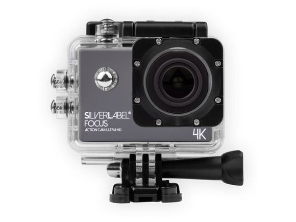 SilverLabel Focus Action Cam 4K with Free Case click to zoom image