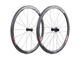 Deda SL38 Carbon Clincher Team Wheels Pair Shimano