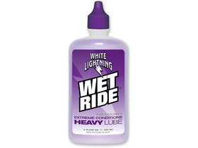 White Lightning Wet Ride 4oz (120ml) Bottle