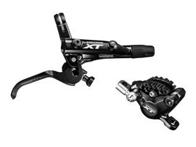 Shimano BR-M8000 XT bled I-spec-II compatible brake lever and calliper
