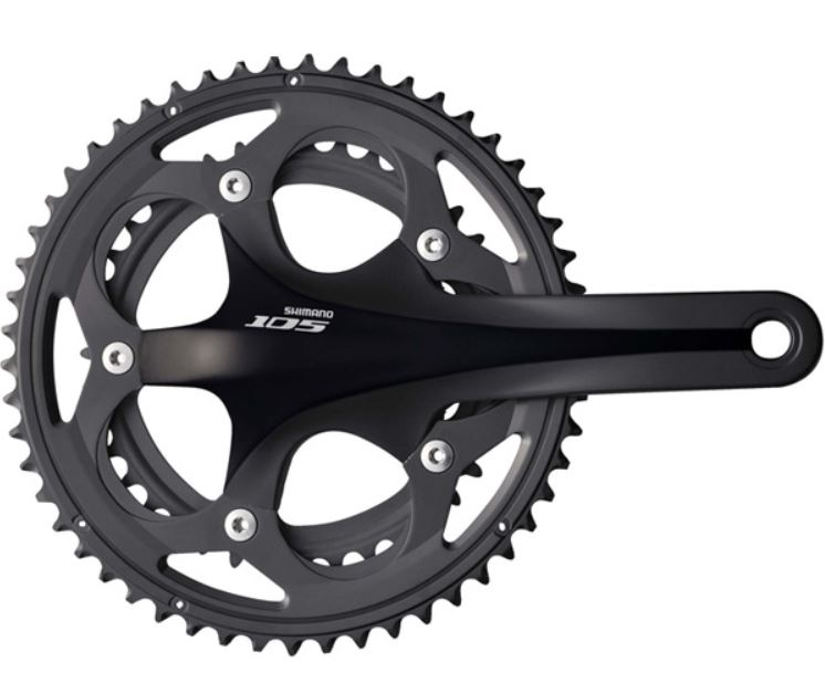 fa2ee0b079c Shimano 105 5700 10 Speed Double Black Chainsets :: £78.00 ...