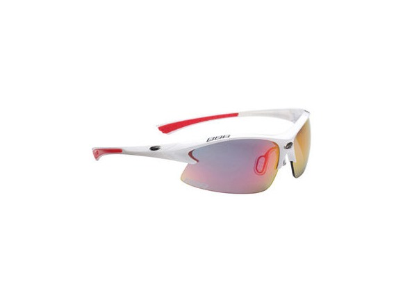 BBB BSG-38 - Impulse Team (White, Smoke Red Lens) click to zoom image