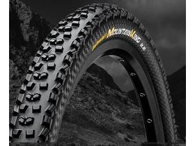 "Continental Mountain King II ""Black Chili"" UST Tubeless MTB Tyre 26 x 2.20"""