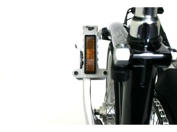 Brompton Folding Left Hand Pedal Silver click to zoom image
