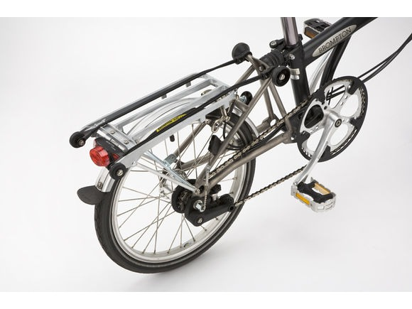 Brompton REAR RACK & MUDGUARD SET click to zoom image