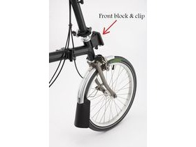Brompton Front carrier block and clip