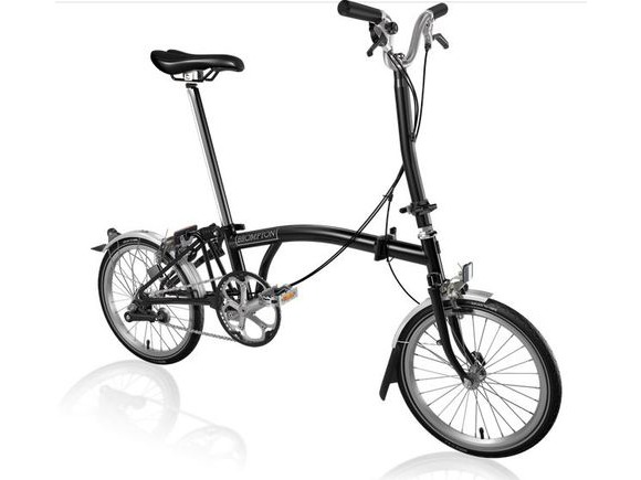 Brompton H3L Black click to zoom image