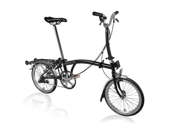Brompton M3R All Black click to zoom image