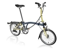 Brompton M6R Tempest Blue/Ivory