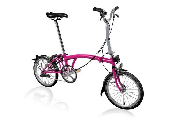 Brompton M3L Hot Pink click to zoom image