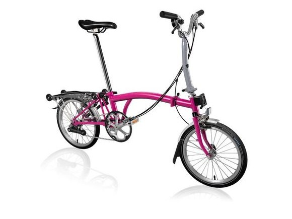 Brompton M6R Hot Pink click to zoom image