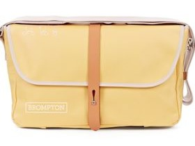 Brompton Shoulder Bag Yellow + Frame with Free Pouch worth £15