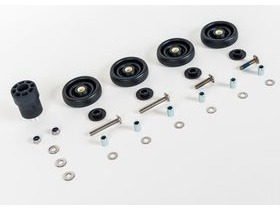 Brompton Set Rollers & Fittings For R (rack version)