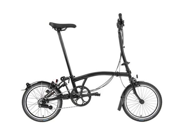 Brompton Black Edition H6R Gloss Black click to zoom image