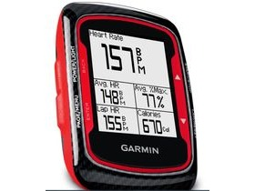 Garmin Edge 500 GPS-enabled cycle computer with cadence sensor & Heart Rate, red