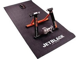 Jet Black TURBO TRAINER FLOOR MAT