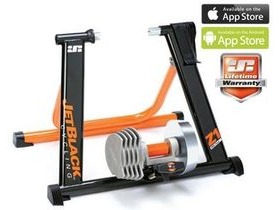 Jet Black Z1 Pro Fluid SQR Trainer + App